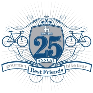 Celebrating 25 years of biking and gourmet food